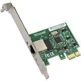 WY1000T1 PCI-E X1 10/100/1000M RJ45 Gigabit Ethernet Network Card Server Adapter Nic For Intel 82574L EXPI9301CT/9301CT