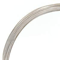 1 Ounce. (48 Ft.) Sterling Silver Wire 24 Gauge - Round-Half Hard