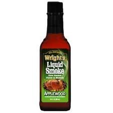 WRIGHT'S All Natural Applewood Liquid Smoke - 3.5 Oz by Wright's by Wright's