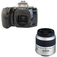 Minolta Maxxum 300si 35mm SLR Film Camera Body - Bundle - with Konica Minolta AF 35-80 F4-5.6 II Zoom Lens
