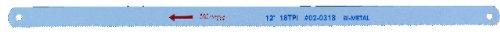 Drill America DMS Series Bi-Metal Hacksaw Blade, 24 TPI, 12'' Length (Pack of 10)
