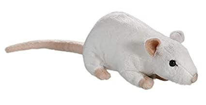 Amazon.com: Carl Dick Mouse White 7 inches, 18cm, Plush Toy ...