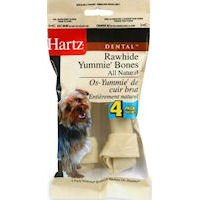 Hartz Bones Rawhide - Hartz 17515 Yummie Bones (4 Pack)