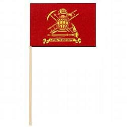Firefighter Miniature Flag (12 in. x 18 in.)