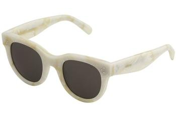 Sunglasses Celine 41053 /S 021J White / NR brown gray - Sunglasses White Celine