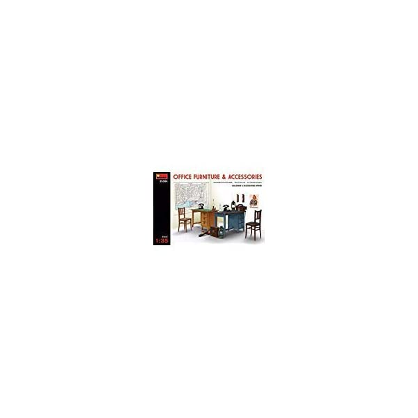 MiniArt Office Furniture & Accessories 1/35 35564 1