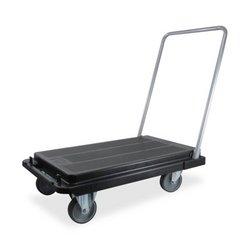Deflecto Foldable Platform Cart Dolly, Heavy Duty Casters, 300 lb Capacity, Black by Deflecto