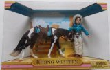Breyer Sunshine Stables Riding Western Set 755402