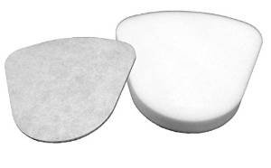 Smartide 2 Pack Kit for Shark Navigator Lift-away Nv350 Nv351, Nv352, Nv355, Nv356, Nv357 Pre-filter Foam and Felt + 1 Hepa Filter for Shark Part # Xff350 & # Xhf350