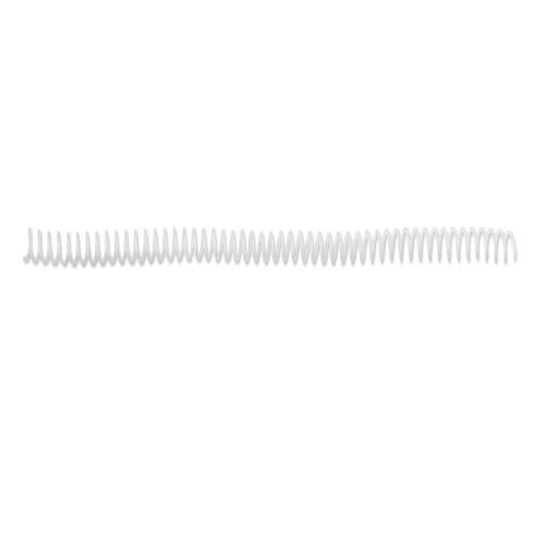 GBC Binding ColourCoil 4:1 Pitch 6mm A4 Black 30 Sheets Capacity, Pack of 100