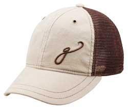 - Gogie Girl: Cotton Corduroy Soft Mesh Hat: KELLI-Beige/Brown - Size Standard