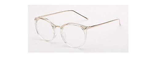 para Grau Merriz Ojo Oculos Gafas Eye Bright Marco de Hombres de Liso Gafas De Ojo de Unisex Black transparente Gafas Prescripción Mujer Mujeres Diseño Ruld para qwBqxOrC7