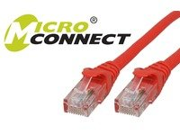 Price comparison product image Microconnect UTP cat6 1m 1m Red