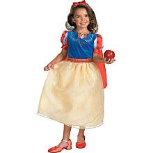 Morris Snow White Costumes (Snow White Deluxe Child Costume - Small)