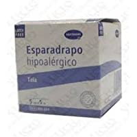 ESPARADRAPO HIPOALERGICO TELA HARTMANN 5M x 5CM