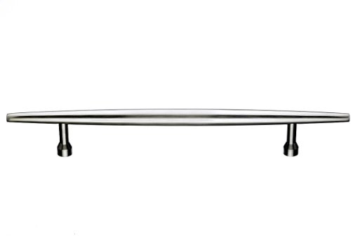 Top Knobs M850-18  Nouveau Appliance Pull Nickel - 18' Handle Appliance Pull