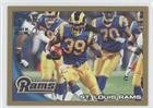 St. Louis Rams Team #1302/2,010 (Football Card) 2010 Topps - [Base] - Gold #353