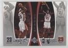 Michael Jordan; Lebron James (Basketball Card) 2005-06 Michael Jordan Lebron James Dual - Box Topper [Base] #LJMJ7 (Lebron Jordan James Michael And)