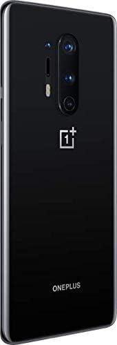 OnePlus 8 Pro Onyx Black, 5G Unlocked Android Smartphone U.S Version, 12GB RAM+256GB Storage, 120Hz Fluid Display,Quad Camera, Wireless Charge, with Alexa Built-in