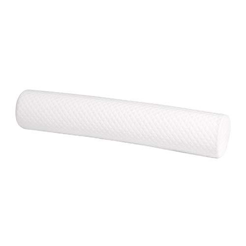 uxcell® Round Memory Foam Pillow Cervical Neck Bolster Head Back Support Pillow Lumbar Knee Bolster Leg Spacer for Side Sleepers (23.6