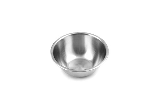 Fox Run 7326 Stainless Steel Small Mixing Bowl, 7.25 x 7.25 x 3.75 inches, Metallic ()