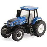 - ERTL Collect N Play Toy Tractor - New Holland Modern Cab with MFD