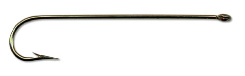 Mustad 3261D Classic Cricket 4 Extra Long Shank Fishing Hook (100-Pack) - Sizes 4, 6, 8, - Trout Long