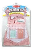 [Melissa & Doug Waitress Role Play, 3-6 Years] (High Quality Costumes For Sale)