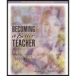 Becoming a Better Teacher - Eight Innovations that Work (05) by Martin-Kniep, Giselle O [Paperback (2004)]