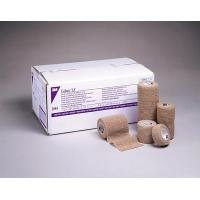 3M Health Care 2086 Self-Adherent Wrap, Latex Free, Non-Sterile, 6'' x 5 yd. Size, Tan (Pack of 12)