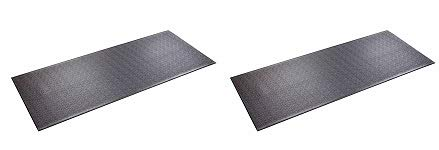 SuperMats Heavy Duty Equipment Mat 30GS Made in U.S.A. for Treadmills Ellipticals Rowing Machines Recumbent Bikes and Exercise Equipment (2.5-Feet x 6-Feet) (30'' x 72'') (2-(Pack)) by SuperMats
