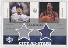 Paul Lo Duca; Andre Miller (Trading Card) 2002-03 Upper Deck UD Superstars - City All-Stars Jersey Dual #PL/AM-C