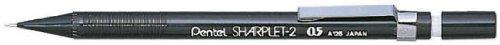 Pentel A125A Sharplet-2™ Automatic Pencil, 0.5 mm, Black