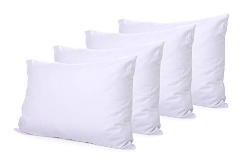 The Great American Store - Set of 4 Indoor/Outdoor 6D Pillows (12 x 16) Pillow for Decorative, Bed Pillow Shams - Fiberfill ()