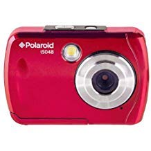 Polaroid iS048 Waterproof Digital Camera - Red