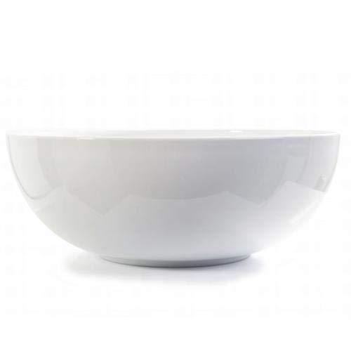 Danesco Tabletop Large Salad Bowl, 5.3qt/30cm Dia, Hotelware Quality White Porcelain Danesco Tools & Gadgets Contemporary