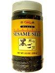 (JFC Roasted Black Sesame Seeds Iri Goma, 8 oz)