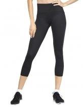 SPANX Women's Active Compression Cropped Leggings Pants, black, M