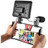 Ulanzi Smartphone Video Stabilizer Phone Movies &Filmmaker Rig Handle Grip for Apple IPhone 5, 5C, 5S, 6, 6S, 7 (Regular...