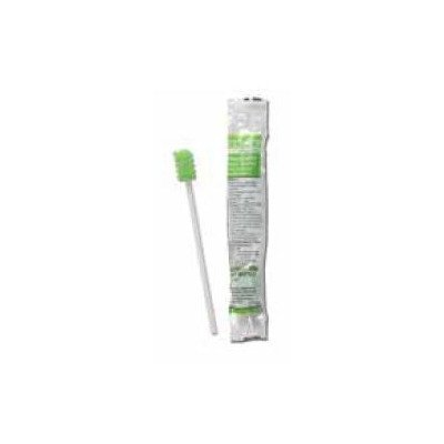 MCK60751700 - Sage Products Oral Swabstick Toothette Plus Foam Tip Sodium Bicarbonate
