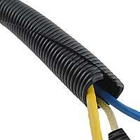 Wiring Cover | Cable Sleeves Wire Loom Black 20 Feet 3 8 Split Tubing Hose Cover