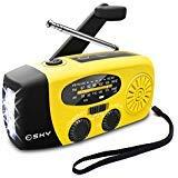 Esky Solar Weather Radios