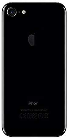 Bouclier® Back Panel for Apple iPhone 7   Black Self Adhesive