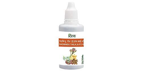 Baba Ramdev Patanjali Ayurved/Ayurvedic SADBINDU TAILA Natural Herbal (40ml)