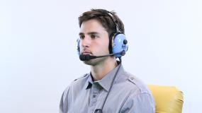 FARO premium pilot headset lifestyle