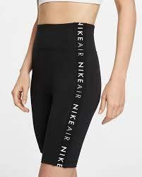 Nike Womens NSW Air Bike Shorts Black MD (Nike Bicycle Shorts)