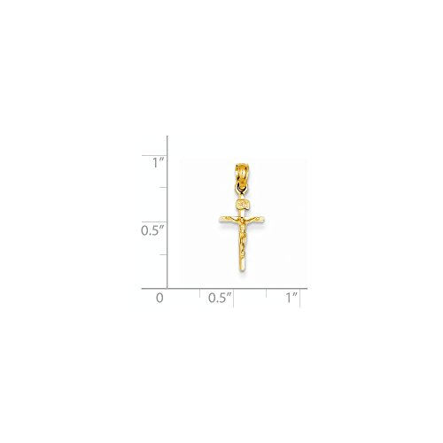 Gold Small Crucifix - 8