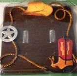 - Western Boot and Hat Double Light Switchplate