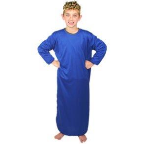 Kids Dark Blue Nativity Gown ()