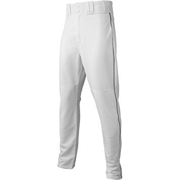 11aa026f6 Buy Majestic Athletic Majestic Youth Cool Base Hd Piped Baseball Pants  Large White Black White